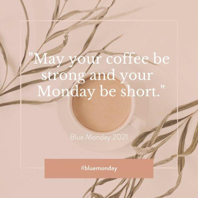 Vandaag is het #bluemonday💙, volgens wetenschappers dé meest depressieve dag van het jaar. Maar daar doen we niet aan mee... Drink een sterke koffie, haal een frisse neus en doe iets geks (coronaproof uiteraard 😉). Zo maak je van deze maandag een echte topdag. #bluemonday #mondaymood