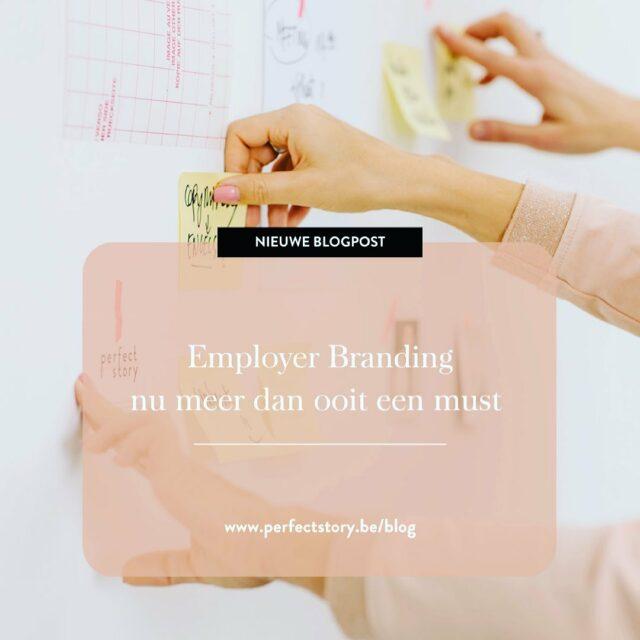 Vergeet tijdens de coronacrisis jouw employer branding niet.  Zo zorg je ervoor dat de juiste talenten voor jouw onderneming kiezen en er ook met plezier blijven werken.   In mijn nieuwste blogartikel licht ik toe wat een sterk werkgeversmerk voor jouw bedrijf kan betekenen en geef ik enkele praktische tips om meteen aan de slag te gaan. Lees er alles over op http://bit.ly/3qFbWaT #employerbranding #blogpost #contentcreation